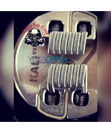 Coils Staggered Ni 90 CRAZY FAB COILS
