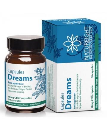 Gélules au CBD Dreams/Sommeil - Natureight