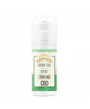 Crème CBD Sport 100ml - Greeneo