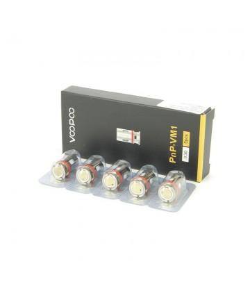 Pack de 5 résistances PnP Vinci Voopoo 0.3 ohm