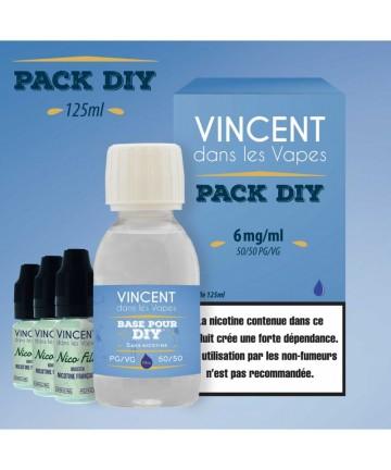 Pack DIY 6 mg (125 ml)