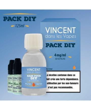 Pack DIY 4 mg (125 ml)