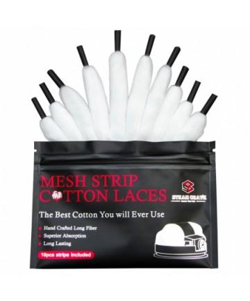 Shoelace Mesh Cotton Steam Crave