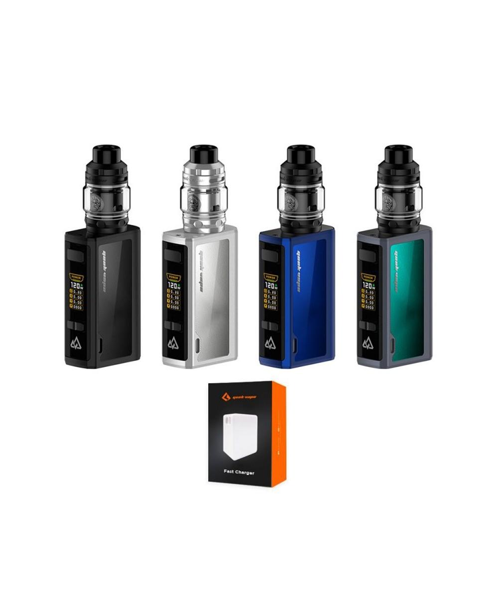 Kit Obelisk 120 + Fast Chargeur Geekvape